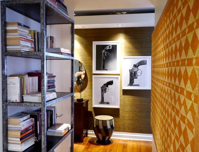 Apartamento cheio de arte e praticidade