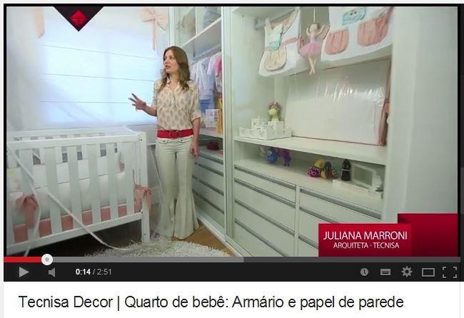 Tecnisa Decor: Veja as dicas da arquiteta para o quarto do nenem