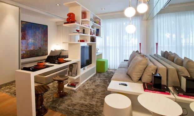 imovel de 70 m² decorado