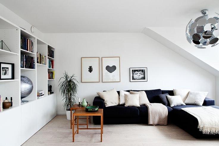 Inspire-se com sofás pretos para sua sala