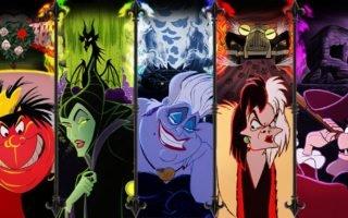 Decoração quarto vilões Disney